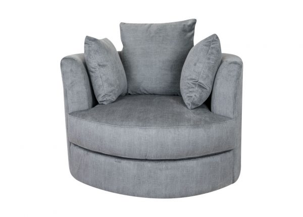 Chevron-Swivel-Chair