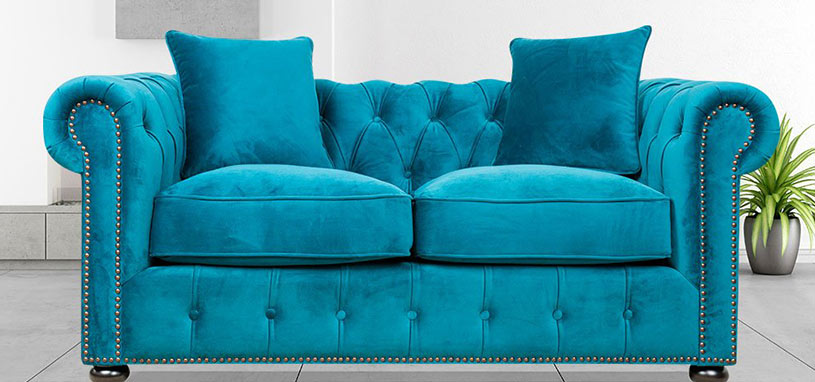 blue sofa for your living room